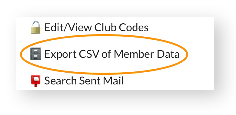 pooldues member export csv data