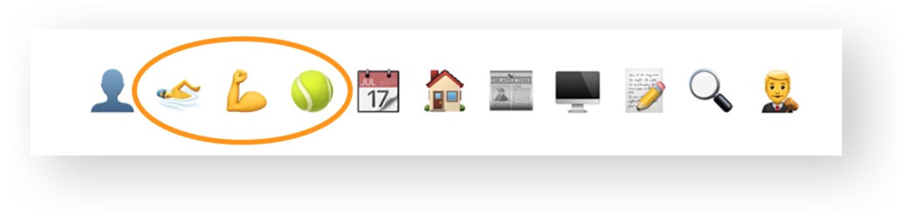 pooldues top bar grid icons